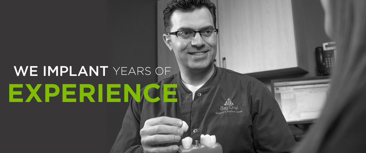 We implant years of experience